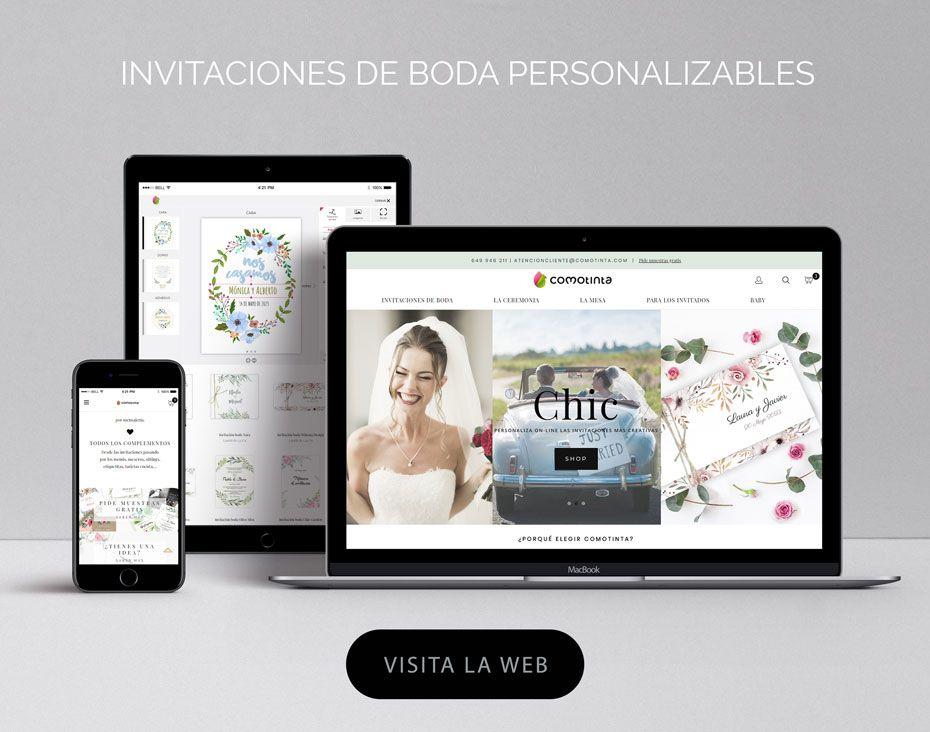 Tienda online invitaciones de boda (ver web)