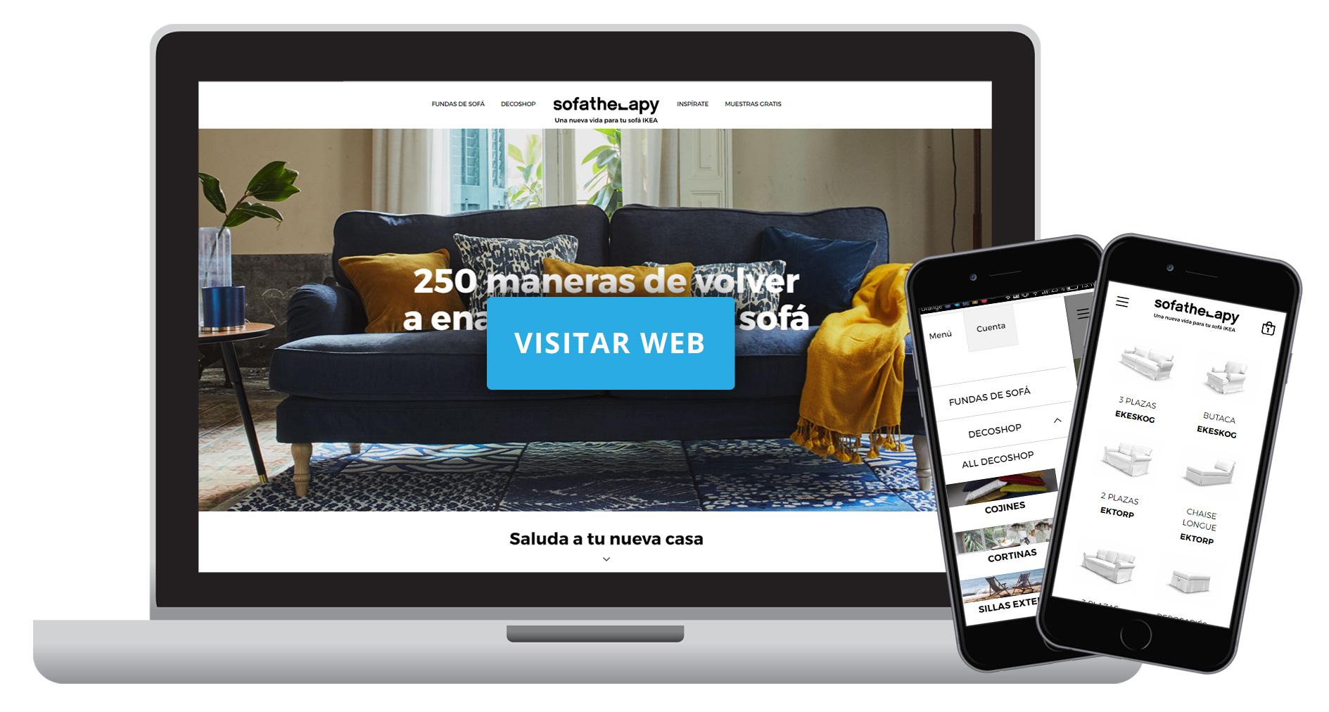 Tienda online fundas sofa de Ikea