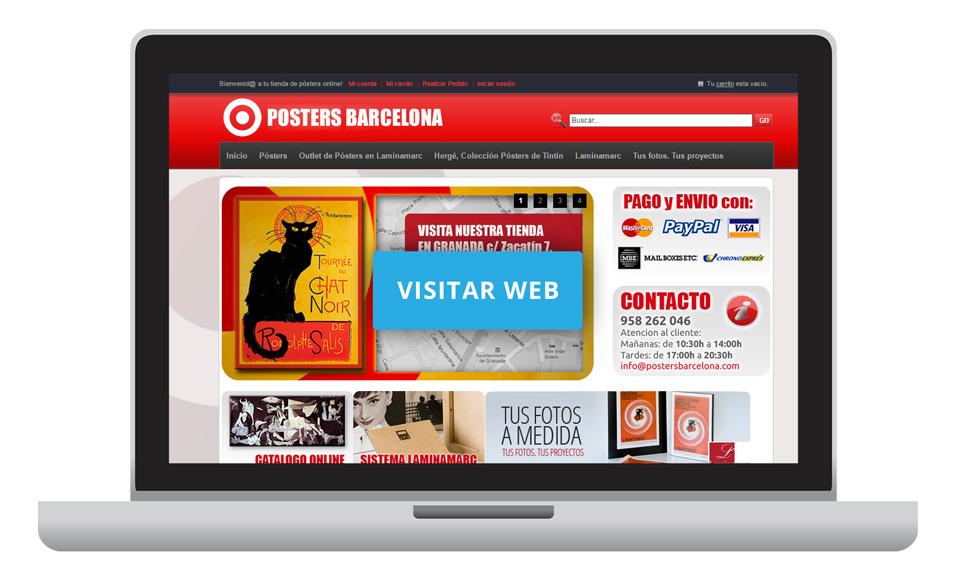 Tienda online de pósters