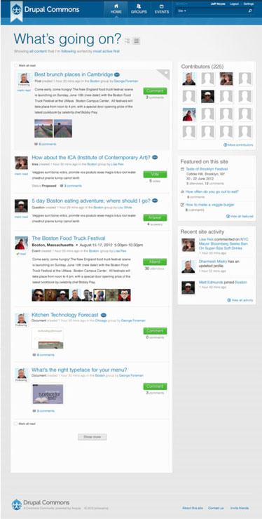 Drupal Red Social