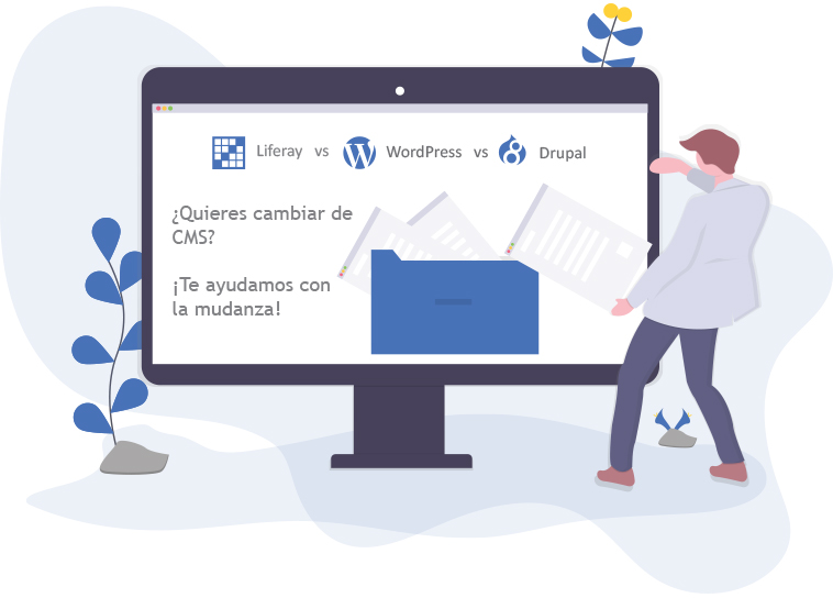 Comparativa Liferay vs Drupal vs WordPress