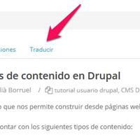 Traducir pagina web Drupal